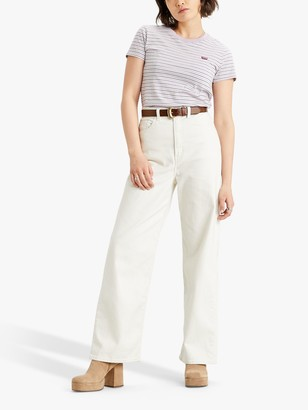 Levi's High Loose Jeans, Natural