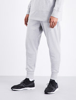 Y-3 Y3 Logo-print cotton-jersey jogging bottoms