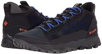 Columbia Flow Borough Low (Black/Tangy Orange) Men's Shoes