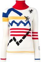 Rossignol Jean Charles de Castelbajac x intarsia knit jumper