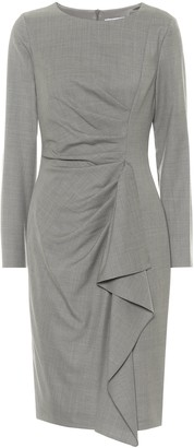 Max Mara Sultano virgin-wool pencil dress