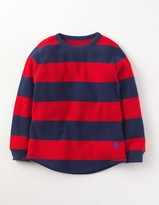 Boden Waffle Stripe T-shirt