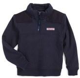 Vineyard Vines 'Shep' Quarter Zip Pullover (Toddler Boys & Little Boys)