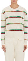 Etoile Isabel Marant Women's Goya Striped Alpaca-Blend Sweater-Nude