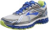 Brooks Women's Adrenaline GTS 15 Shoes White / Dazzling Blue / Sharp Green 8.5 / 2A