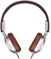 Shinola Leather Over-Ear Headphones, Brown