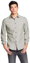 Mossimo Men's Long Sleeve Button Down Shirt