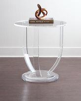 Interlude Tatum Acrylic Side Table