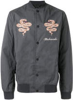 MHI embroidered bomber jacket