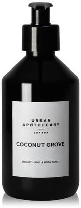 Urban Apothecary Coconut Grove Luxury Hand & Body Wash 300ml