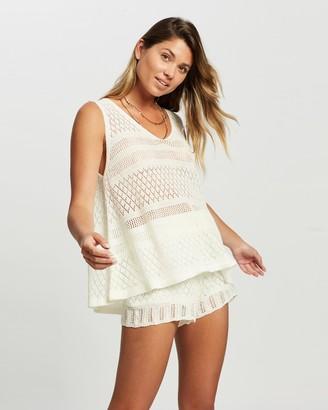 Reverse Women's White Shorts - Lace Shorts Set - Size XS/S at The Iconic