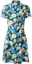 Carven floral print shirt dress