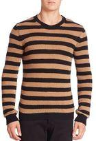 Valentino Striped Wool Sweater