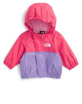 The North Face Infant Girl's 'Tailout' Hooded Rain Jacket