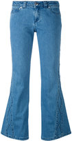 See by Chloe flared jeans - women - Cotton/Spandex/Elastane - 24
