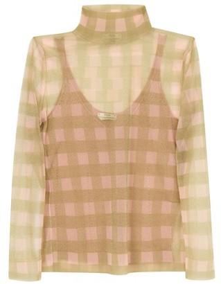 Fendi Nylon long sleeves top