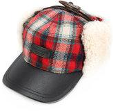DSQUARED2 check trapper hat