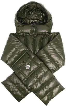 Moncler Quilted Hooded Scarf