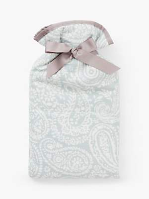 John Lewis & Partners Hot Water Bottle, Paisley