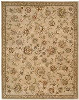 "Nourison Wool & Silk 2000 2360 Beige 9'9"" x 13'9"" Area Rug"