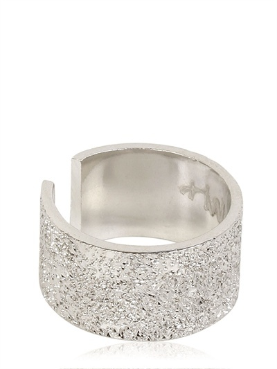 Maria Francesca Pepe Sterling Silver Midi Pinky Ring
