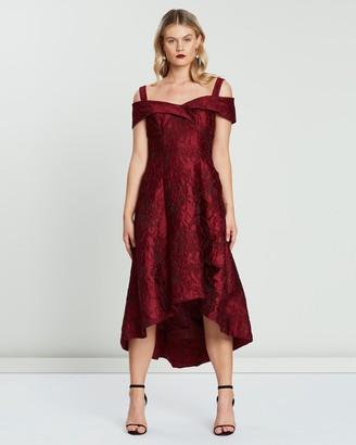 Montique Luciana Jacquard Dress