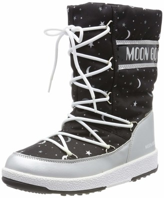 Moon Boot Moon-boot Jr Girl Quilted Universe Wp Snow Boots Unisex Kids'