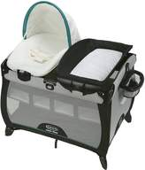 Graco Children 9AM03DCI3CA Pack 'N Play Quick Connect Portable Lounger Deluxe with Bassinet