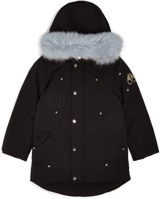 Moose Knuckles Fox Fur-Trim Parka
