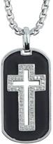 Effy Sterling Silver Cross Pendant Necklace