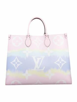 Louis Vuitton 2020 Pastel Escale OnTheGo Pink