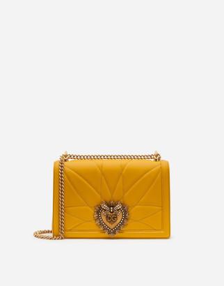 Dolce & Gabbana Large Matelasse Nappa Leather Devotion Bag