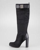 Rachel Zoe Camille Snake-Textured Calf Hair Boot