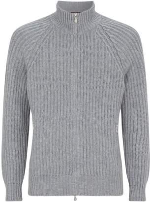 Brunello Cucinelli Knit Zip-Up Cardigan
