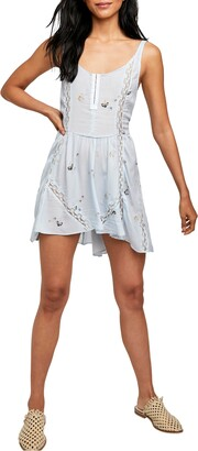 Free People Give a Little Minidress