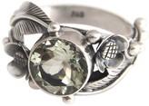 Novica Artisan Crafted Sterling 3.00 ct Prasiolite Ring