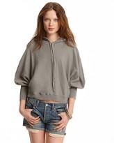 Hooded Dolman Sweater