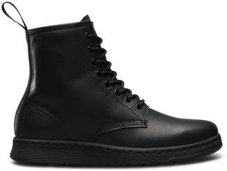 Dr. Martens Newton Leather Ankle Boots with Lace-Up Fastening