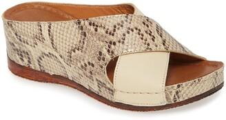 Sheridan Mia Kokos Wedge Slide Sandal