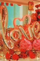 Urban Outfitters Rose Gold Love Balloon