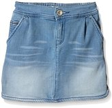 Tommy Hilfiger Girl's Vikky Denim Kdlstr Plain Skirt,4