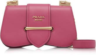 Prada Small City Calf Flap Bag