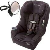 Maxi-Cosi Pria 85 Convertible Car Seat w Back Seat Mirror - Devoted Black by