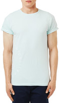 Topman &Worldwide Collective& Graphic Muscle T-Shirt
