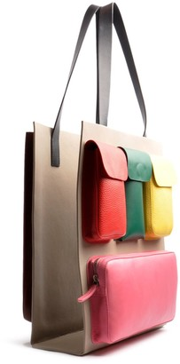 Ostwald Finest Couture Bags Carry On Reversible Bag In Multicolor