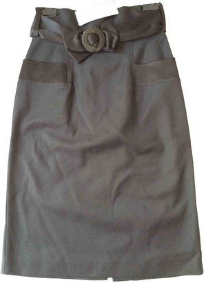 French Connection Black Cotton - elasthane Skirt for Women