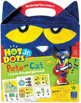 Educational Insights Hot Dots Jr. Pete the Cat Kindergarten Level 1 Activity Book & Talking Pen Set
