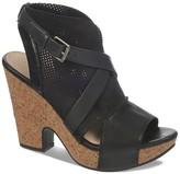 Naya Open Toe Platform Sandals - Maple