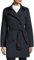 MICHAEL Michael Kors Double-Breasted Trench Coat, Navy