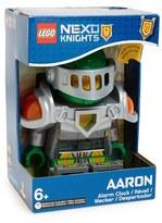 Lego 'Nexo Knights(TM) - Aaron(TM)' Alarm Clock